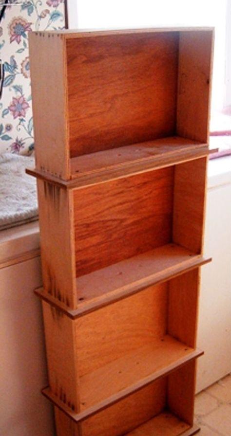 DIY Bookshelf | Don't Throw Away Those Old Dresser Drawers! Here Are 13 Genius Ways to Repurpose Them Instead!