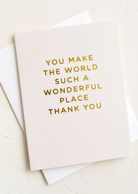 Tiny golden letters exude a warm message with lots of love on this petite card for someoneextraspecial. Includes Single card withwhite envelope Size 4.75 x 3.5 Style Folded card with blank interior Details Gold foil embossed text Origin United States