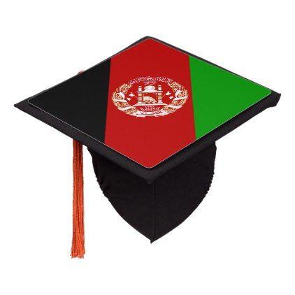 Patriotic Afghanistan Flag Graduation Cap Topper Zazzle Com