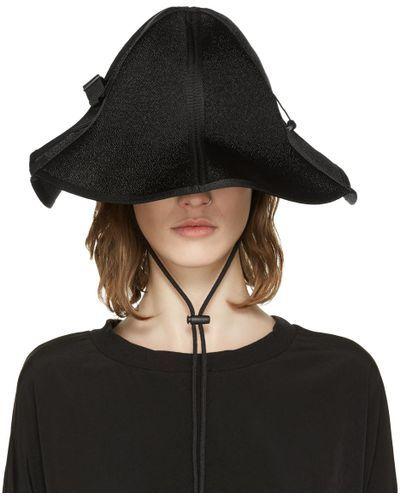 f124a3c511384 Women's Black String Bucket Hat | hats | Hats, Hats for women ...