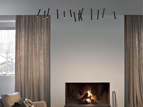 Plafoniere Da Soffitto Flos : Built in lamp ceiling juncos flos light