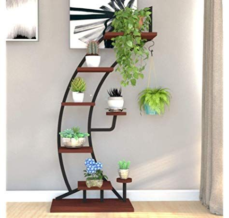 Tall Plant Stand Indoor White