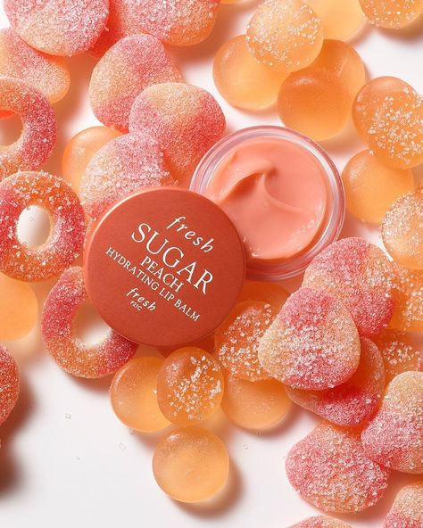Need your daily sugar fix? 🍑Our limited-edition Sugar Peach Hydrating Lip Balm is as sweet and addictive as peaches and cream. Plus it's full of key ingredients like nourishing apricot kernel oil and vitamin E to keep your lips healthy and hydrated! Lip Care, Body Care, Beauty Care, Beauty Skin, Peach Lips, Peach Lip Gloss, Hydrating Lip Balm, Cream Aesthetic, Skin Makeup