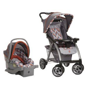 SALE! Safety 1st Saunter Travel System Price: $166.96  You Save: $43.03  •3-point restraint system •Accommodates child up to 50 pounds •Rear-facing from a tiny 4 up to 22 pounds •QuickClick secure your infant car seat to the stroller with one simple click •Multi-position recline