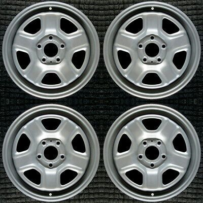 Details About Jeep Compass Painted 16 Oem Wheel Set 2007 To 2017 In 2020 Oem Wheels Jeep Compass Wheel