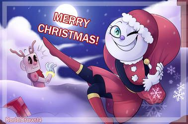 Merry Christmas By Karladraws14 With Images Art Sketches
