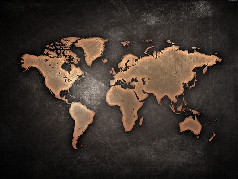 Black And White World Maps Continents Time Zones World Map - best of videohive world map earth zoom free download