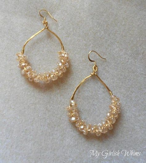 Anthro Knockoff Earring Tutorial How To Make Earrings