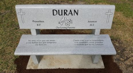 Granite Benches For Cemetery Memorial Benches Bench Granite Headstones