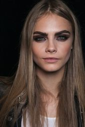 Eye brown makeup for blondes cara delevingne 42 New ideas