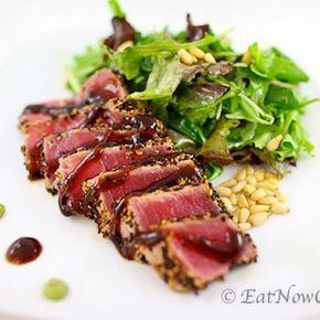 Pan Seared Ahi Tuna Recipe Seared Ahi Tuna Recipe Seared Tuna