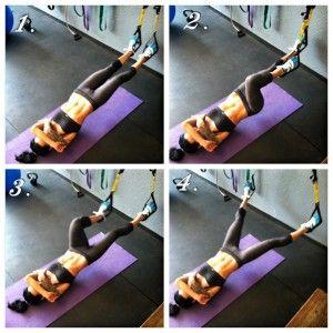 TRX: Legs and Abs Bodyweight Circuit | Betty Rocker