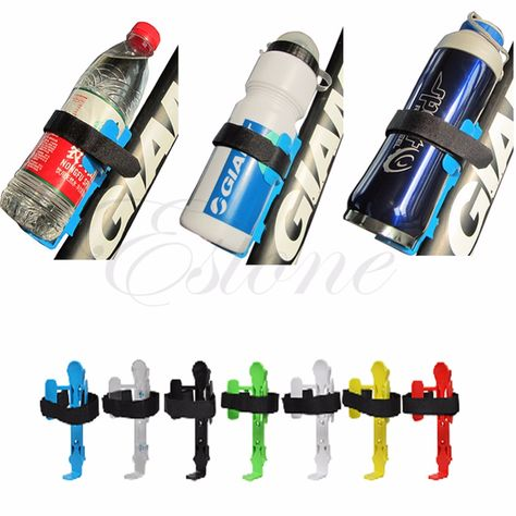 Sport Adjustable Aluminium Bike Bicycle Cycling Water Cup Bottle Holder