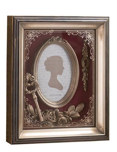 Original shadow box framed and glazed art Key to my heart.