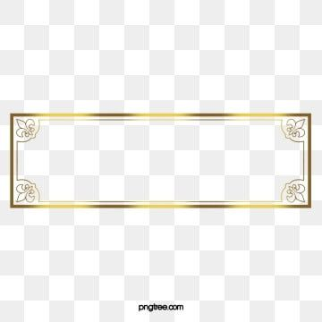 Golden Frame Png Vector Psd And Clipart With Transparent Background For Free Download Pngtree Birthday Photo Frame Frame Clipart Ornament Frame