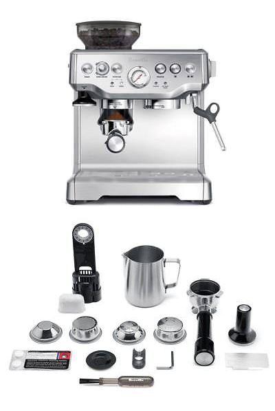 Espresso And Cappuccino Machines 38252 Breville Barista Express Espresso Machine Bes870xl New Espresso Machine Cappuccino Machine Espresso Machine Reviews