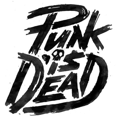 Punk is Dead by Erik Marinovich