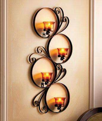 Chic Wrought Iron Wall Candle Holders You Will Admire | Mobiliario |  Pinterest | Wall Candle Holders, Iron Wall And Wrought Iron