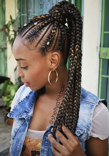 63 Best Braided Ponytail Hairstyles For 2020 Page 2 Of 6 Stayglam Braided Ponytail Hairstyles Hair Styles Braided Hairstyles