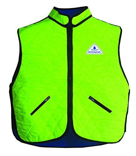Hyperkewl 6530hvm Evaporative Cooling Vest Hivisibility Lime