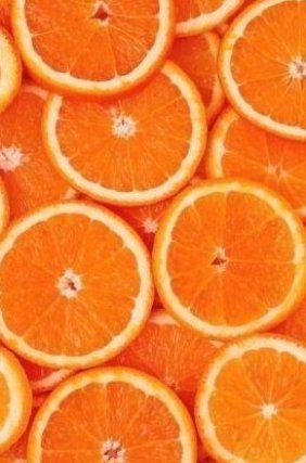 Orange health aesthetic