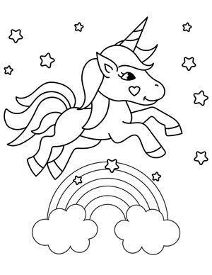 20 Free Printable Unicorn Coloring Pages The Artisan Life Unicorn Coloring Pages Cute Coloring Pages Coloring Pages
