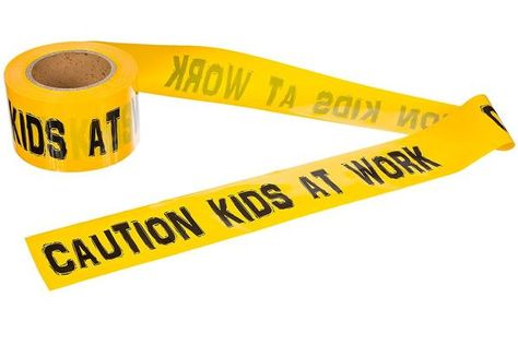 """This tape was created to add a little more fun to playtime or parties than just using the old """"Caution"""" tape. Allow your child to stand out with a fresh take on an old product.   300 FOOT ROLL! – Tired of buying 50 foot sections? This roll will last for several parties (depending on use) or will provide your child with a lot of fun! COMMERCIAL THICKNESS AND QUALITY – 3Mil thickness just like on a construction site. Much thicker than most party tapes. STAND OUT FROM YOUR FRIENDS! – This is a b..."""