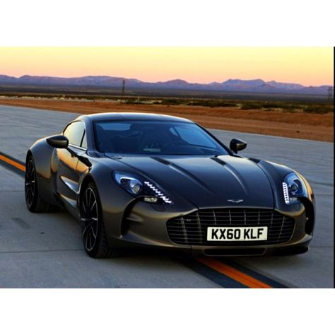 Aston Martin One 77. This one was registered in the northampton area, so just down the road from me! (in my head this translates as: basically nearly mine)