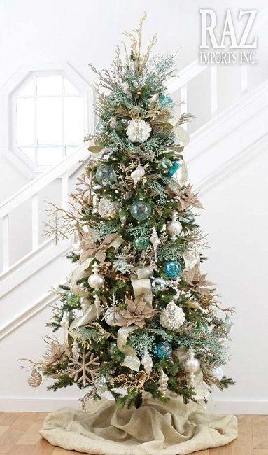 25 Beach Christmas Tree Ideas 2020 Coastal Christmas Decor