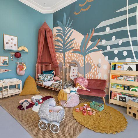 Garçons Robot Themed Room Decor pochoir peinture MURS TISSUS MEUBLES DÉCORATION MAISON