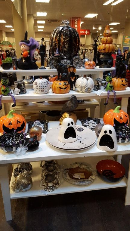 2020 Halloween At T.K. Maxx- 3 Witches And Happy Halloween With Two Pumpkins 100+ Best Halloween images in 2020   halloween, halloween themed