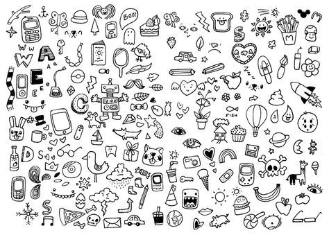 37 Ideas For Drawing Easy Doodles Cute With Images Cute Easy