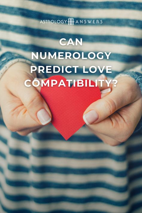 Looking for love? Take a look at how numerology can help you understand your best match and compatibility! #numerology #compatibility #astrologyanswers