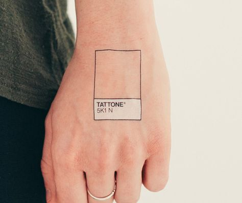 The awesome-st temporary tattoo ever has been found.