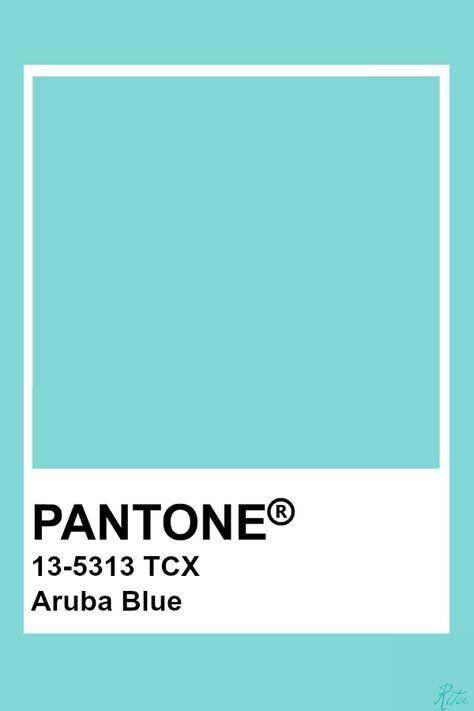 Pantone Aruba Blue