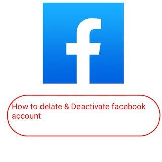 How To Delate Facebook Account Facebook Technicalbet Delete Facebook Deactivate Facebook Account Facebook