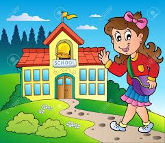Images D Une Ecole Clipart Recherche Google Kindergarten First Day School Building Clip Art