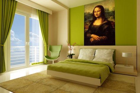 дизайн спальни с фотообоями 1