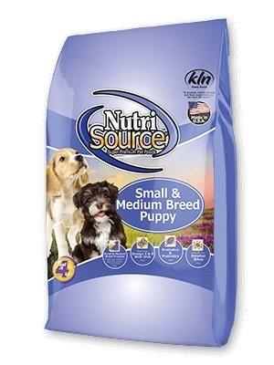 Nutrisource Small Medium Breed Puppy Food 5 Lbs In 2020 Puppy Food Dog Food Brands Dog Food Recipes
