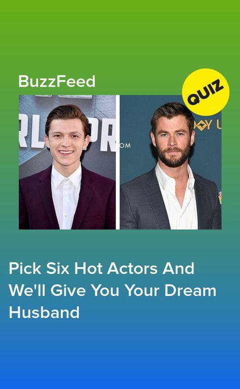 Find your dream guy quiz
