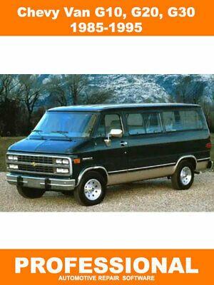 Advertisement Ebay Chevrolet Chevy Van Manual Software 1985