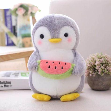 Cute Soft Penguins - Watermelon / 45cm