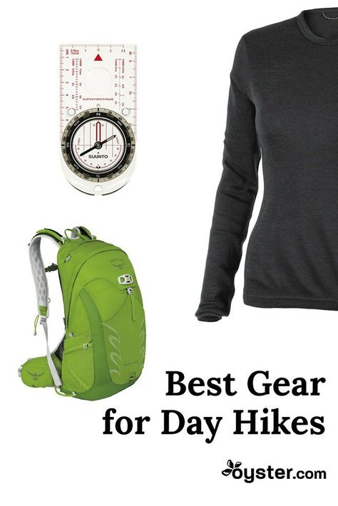 best gear for day hikes