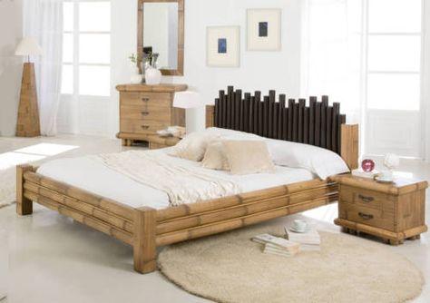 Bambusbett Cabana 140x200 Bett Aus Bambus Holzbetten
