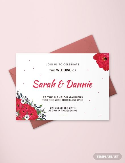 Sample Wedding Invitation Card Template Free Pdf Word Psd Publisher Outlook Simple Wedding Invitation Card Wedding Invitation Samples Free Invitation Cards