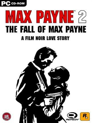 Max Payne 2 The Fall Of Max Payne Classic Video Game Artwork