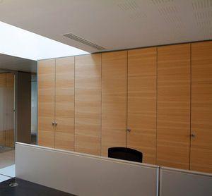 Fixed Partition Wooden Glazed Aluminum 3 6 9 Estel
