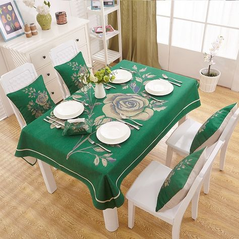 Mantel Para Mesa Terciopelo Rojo Mantel Rectangular Para Coffee Table Cloth Dining Table Cloth Table Cloth