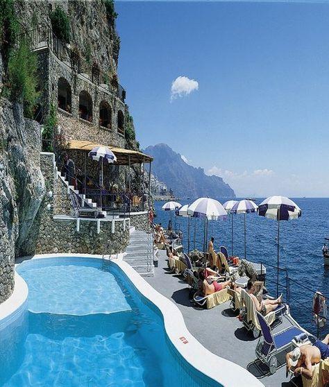 Hotel Santa Caterina in Amalfi, Italy