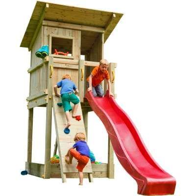 Spielturm Beach Hut Mit Rutsche Kletterwand In 2021 Spielturm Kinderspiel Im Freine Kletterwand